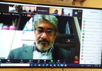 """Webinar on """"Hepatitis B and its Challenges in Afghanistan"""" was held."""